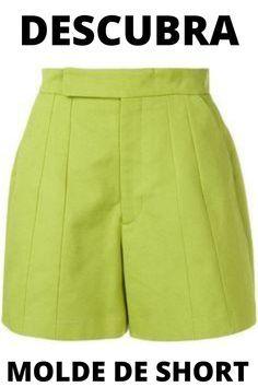 Piece Of Clothing, Size Clothing, Short Elegantes, Chor, Green Cotton, Cotton Shorts, Short Dresses, Dress Up, Women Wear