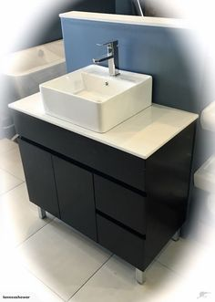 Vanity - 1000mm White Quartz Stone Counter Top Set | Trade Me