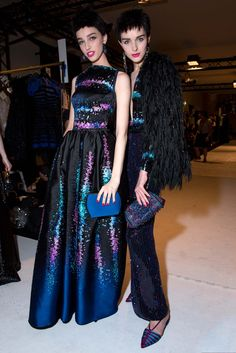 Backstage 21: Armani Privé Fall 2015 Couture - Beauty - Gallery - Style.com