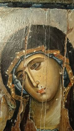 Byzantine Art added a new photo. Madonna, Byzantine Icons, Byzantine Art, Religious Icons, Religious Art, Romanesque Art, Religious Paintings, Art Thou, Albrecht Durer