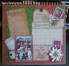 December Place In Time Calendar