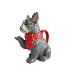 Frenchie Tea Pot | Home & Garden | George