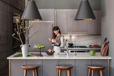 Truth be told, my kitchen was the easiest to elevate to my SWOONY standards. Today on Eye-Swoon.com, I'm sharing a few small design tricks that made a world of a difference. #ROOMSWOON: http://bit.ly/1F9qgNZ