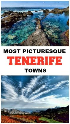What to see and do in Tenerife - Here is a list with the most picturesque towns in Tenerife, Canary Islands, Spain