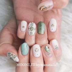 amazing but easy nail art designs you can't afford to miss 25 Simple Nail Art Designs, Easy Nail Art, Nail Designs, Spring Nail Art, Spring Nails, Cute Nails, Pretty Nails, Hair And Nails, My Nails