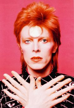 """vintagegal:  R.I.P.David Bowie (January 8th, 1947 – January 10th, 2016) I always had a repulsive need to be something more than human. I felt very puny as a human. I thought, """"Fuck that. I want to be a superhuman."""
