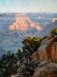 "Susie Hyer ""Morning Breaks"" 18"" x 14"" Oil on Linen"