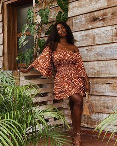 "Not ""beautiful for a black girl"". Black Girl Fashion, Curvy Fashion, Love Fashion, Fashion Outfits, Womens Fashion, Most Beautiful Black Women, Curvy Model, Honeymoon Style, Solange"