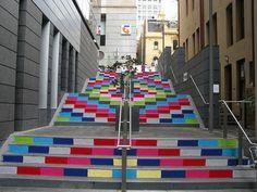 Knitter Please, knit bombing in Sydney, Australia