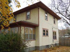 Larson flush mount double hung storm windows, sandstone color.