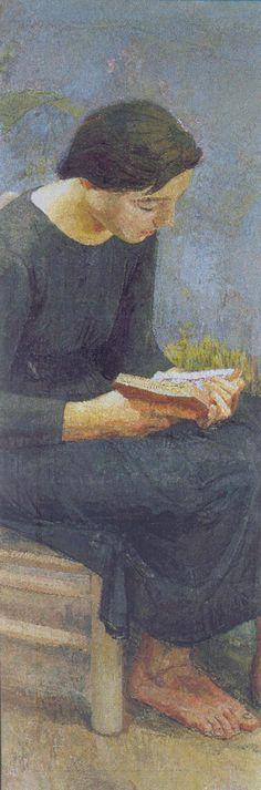 """Josefina Leyendo"" Antonio López (1953)"