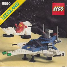 Thousands of complete step-by-step printable older LEGO® instructions for free. Here you can find step by step instructions for most LEGO® sets. Lego Technic, Lego Duplo, Best Lego Sets, Lego Space Sets, Big Lego, Vintage Lego, Vintage Space, Vintage Stuff, Classic Lego