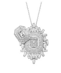 Lily Cluster by Harry Winston, Diamond Necklace in Yellow Gold | Harry Winston