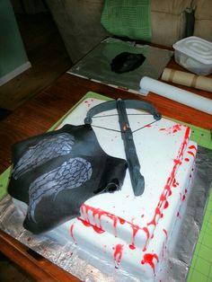 Walking Dead Daryl Dixon cake