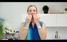 Yoga Facial Exercises for Upper Lip Wrinkles : VitaLife Show Episode 184