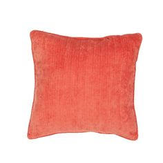 Jaipur Rugs Solid Pattern Red Polyester Pillow VER63
