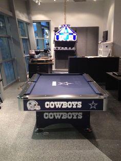 Exceptionnel Dallas Cowboys PoolTable