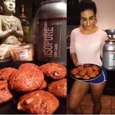 Long time @fitbuzz follower @reemie_fit getting ready to feed the monster...