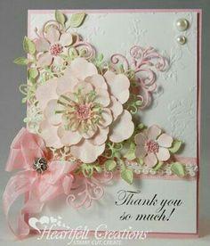 Handmade thank you cards!!!
