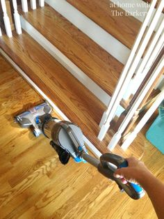 "This Hoover cordless vacuum cleaner is da' bomb, according to Sonia of At Home With the Barkers. Among other things, ""it bends and turns like a fancy sports car,"" she says. Click through to learn more."