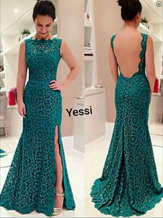 Buy Gorgeous Mermaid Long Lace Backless Prom Dress With Side Slit Special Evening Dresses Under Only In Simple Dress. Teal Prom Dresses, Junior Prom Dresses, Strapless Prom Dresses, Open Back Prom Dresses, Prom Dresses Two Piece, Prom Dresses With Sleeves, Mermaid Evening Dresses, Simple Dresses, Dress Long