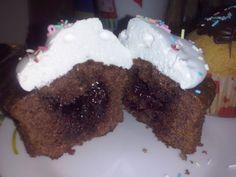 Marshmallow cupcake