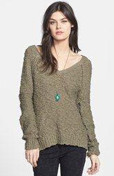 Free People 'Songbird' Sheer Sweater