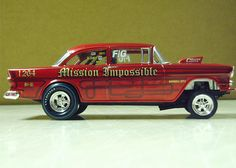 Mission Impossible, '55 Chevy gasser