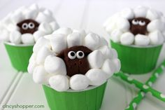 My hubby made these cute Sheep Easter Cupcakes today for the kiddos to enjoy for an afternoon treat. They were so gosh darn adorable that I had to get this post posted as soon as he finished them up. The kids and I have been so excited for spring and of course Easter.  We are …