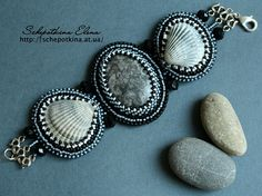 Inspiration. Love the shells incorporated in this piece.
