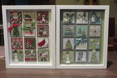 Stamped Christmas Art