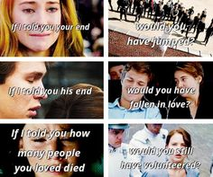 Divergent, The Fault in our Stars, and The Hunger Games.