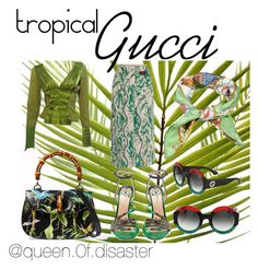 """Tropical Contest"" by paulinka93 on Polyvore featuring Gucci"