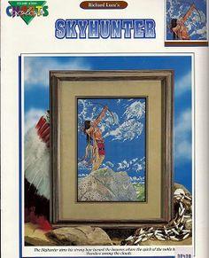 Richard Luce's Skyhunter Counted Cross Stitch by grammysyarngarden, $4.00