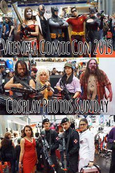Vienna Comic Con 2015 - Cosplay Photos Sunday Best Cosplay, Vienna, Sunday, Glitter, Comics, Photos, Movie Posters, Image, Comic Con