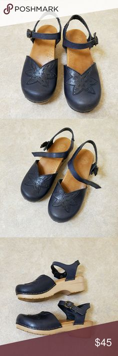 Dansko Clogs Dansko Clogs. Size 37. Navy blue. Made in Poland. In good condition. See pictures above.   Smoke free and pet free home. Dansko Shoes Mules & Clogs