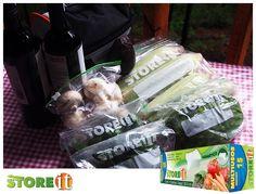 En casa o en el campo, las verduras se mantienen frescas por mas tiempo con bolsas herméticas STOREit