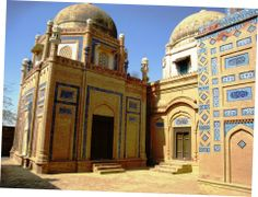 mausoleum of different queens
