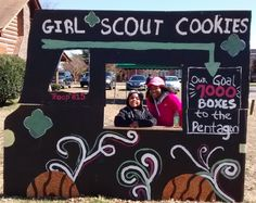 Girl Scout Cookie Booth Gs Cookies, Girl Scout Cookies, Girl Scouts, Girl Guides, Brownie Girl Scouts, Mini Cookies