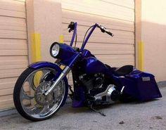 Custom Bagger/Harley Davidson #harleydavidsonroadkingcustom