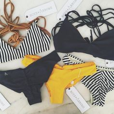 Pin by maddie rhyne on bathing suits plavky, šaty, oblečení Bikini Babes, The Bikini, Yellow Bikini, Bikini Swimsuit, Bikini Beach, Cute Swimsuits, Cute Bikinis, Summer Suits, Summer Wear