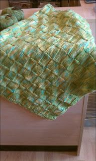You have no idea how many baby blankets we help knit here at the store. I often scribble a pattern for blanket knitter. This time, I took...