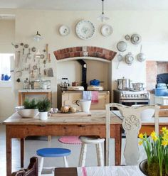 english cottage decorating | English home with vintage country cottage decor ~ The English Home