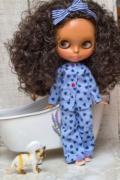 Blythe  Conjunto de pijama y zapatillas para por SweetMemories58