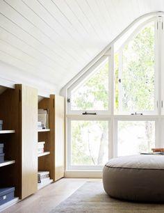 PADDINGTON VILLA | alwill  #interiors #window #view #storage #wood