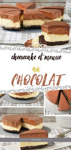 Cheesecake et mousse au chocolat - 9 Cuisine