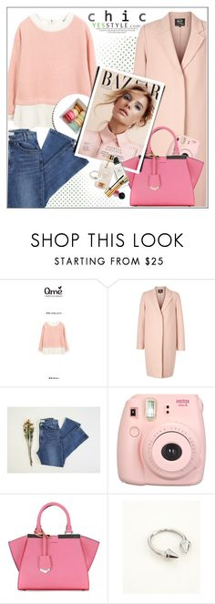 """""""YESSTYLE.com"""" by monmondefou ❤ liked on Polyvore featuring McQ by Alexander McQueen, ssongbyssong, Fendi, DANI LOVE, women's clothing, women, female, woman, misses and juniors"""