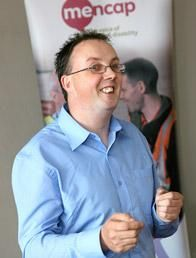 Paul McGowan - disability equality officer for Mencap in Northern Ireland