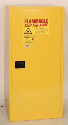 2 gallon flammable liquid safety cabinet manual close door yellow rh pinterest com