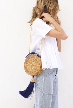 Idée et inspiration look d'été tendance 2017   Image   Description   the best woven bags of summer 2017